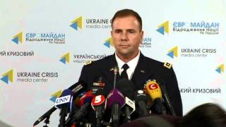 Lieutenant General Ben Hodges. Ukraine Crisis Media Center, 21st of January 2015