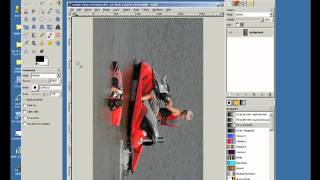 GIMP:   How to rotate an image
