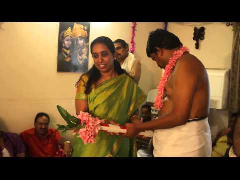 Musala Nardhanam   Mr & Mrs Anandan @ Radhakalyanam 2014   Accra Ghana