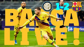 ⚽ Inter-Barça | BARÇA LIVE: Match Center #InterBarça