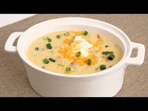 Loaded Potato Soup Recipe - Laura Vitale - Laura in the Kitchen Episode 863