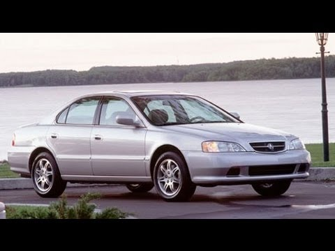 2000 Acura TL Start Up and Review 3.2 L V6