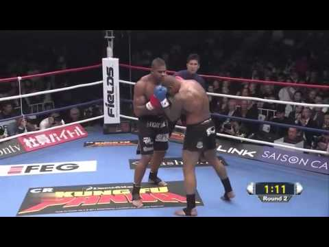 Tyrone Spong vs Alistair Overeem (K-1 World GP 2010)