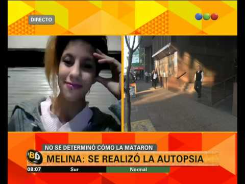 Se realizó la autopsia de Melina - Telefe Noticias
