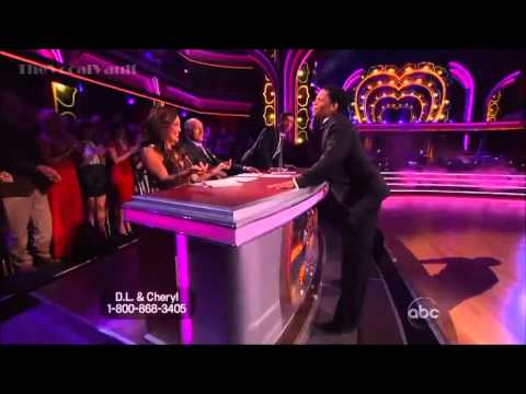 DL Hughley & Cheryl - Foxtrot - DWTS 16 (Week 4)