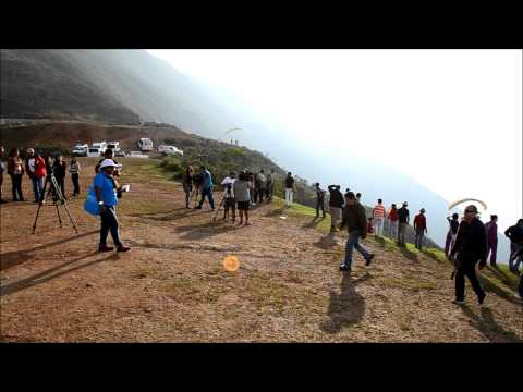 Paragliding in Merida, in the Venezuelan Andes