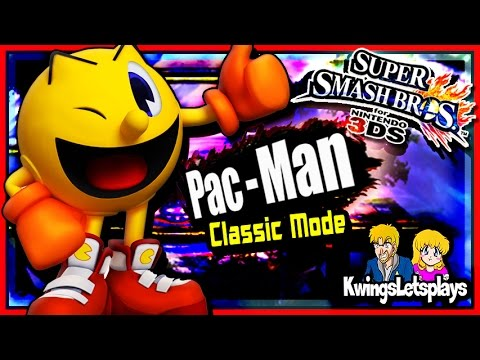 Super Smash Bros 3DS - Classic Mode w/ Pac-Man HD