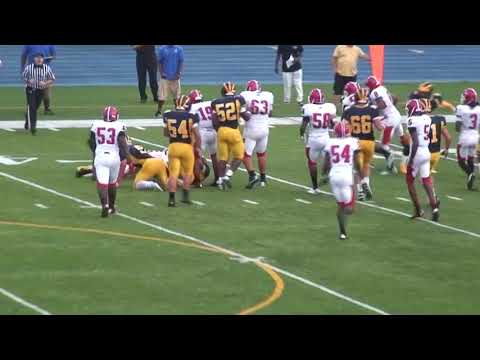 Marco Bondi #22 DE/LB end of 2012 season high school football highlights Class of 2013
