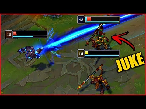 1HP Jukes And Perfect Outplays