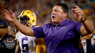 What does LSU need to do to pass Ohio State in CFP rankings? | College Football Live