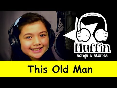 Muffin Songs - This Old Man  | nursery rhymes & children songs with lyrics