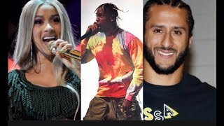 SORRY TRAVIS SCOTT! Cardi B Turns Down The SuperBowl In Support Of Colin Kaepernick