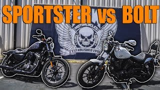 Here Is Why The Yamaha Bolt Is A BETTER Harley Than the Sportster
