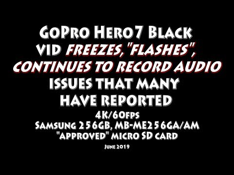 GoPro Issues Jun2019