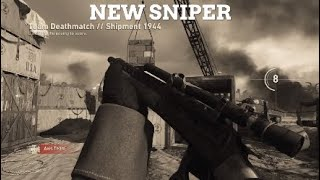 NEW LEVER ACTION SNIPER GAMEPLAY