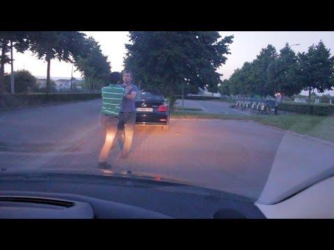 Asi deberian de terminar todas las peleas entre conductores