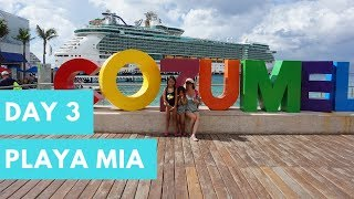 Cruise Life Day 3 | Cozumel Mexico Playa Mia | RCCL Liberty Of The Seas