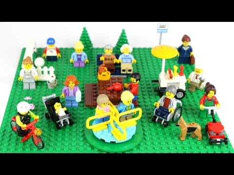 LEGO City Fun in the Park - REVIEW People Pack (60134)