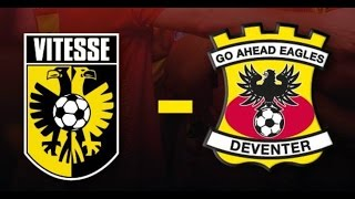 Vitesse - Go Ahead Eagles 17-09-2016