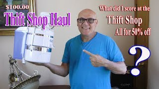 Thrift Shop Haul Juicer, Massage Table, Guitar Amp