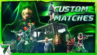 CUSTOM MATCHES! DEATH RACE, Hide n Seek, Fight Club! | PUBG Mobile