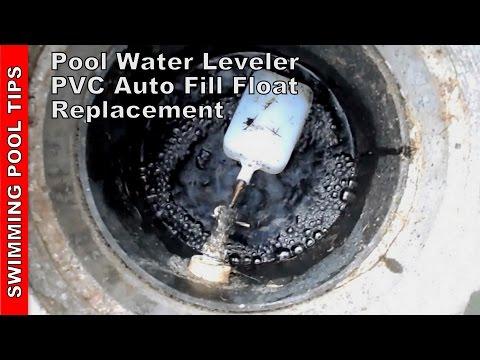 Pool Water Leveler PVC Auto Fill Float Valve Repair & Installation