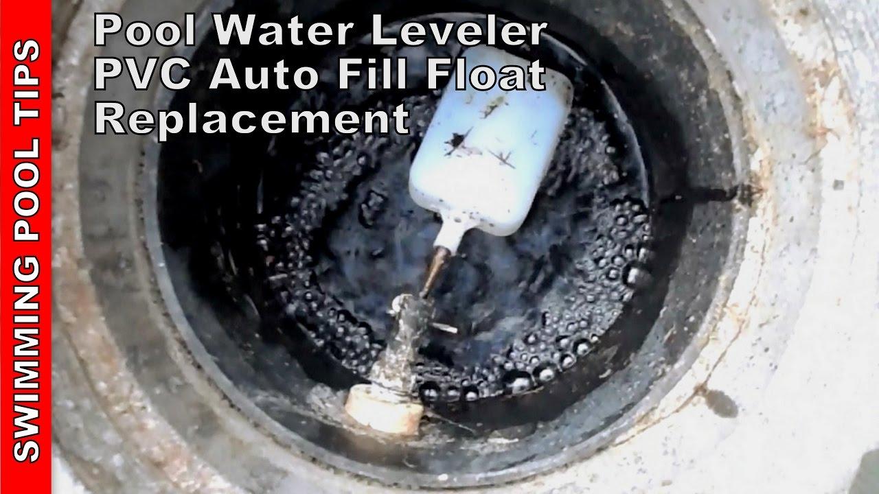 Pool Water Leveler Pvc Auto Fill Float Valve Repair Installation Youtube