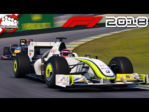 F1 2018 - Brawn GP BGP-001 @ Brasilien - Let's Play F1 2018 Karriere