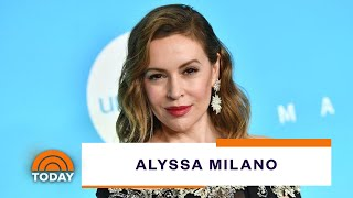 Alyssa Milano Dishes On Her Scandalous Role In 'Tempting Fate' | TODAY