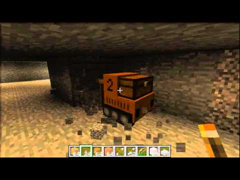 Power Craft - Mining machine - first programmed operation. [test run] Music Videos