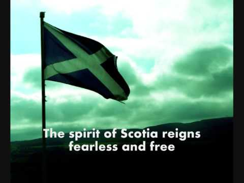 Scotland The Brave (lyrics) video