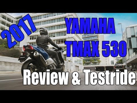 2017 Yamaha TMax 530 Review and Testride
