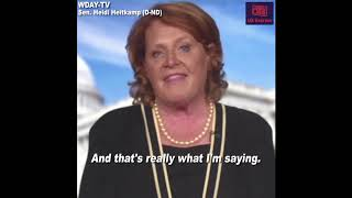 Sen. Heidi Heitkamp says she'll vote 'no' on Judge Kavanaugh