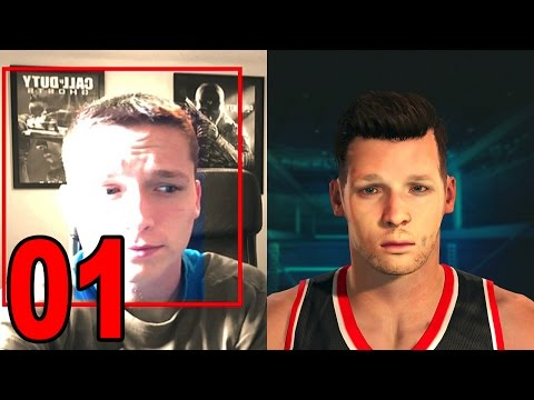 NBA 2K15 My Player Career - Part 1 - Face Scan (Let's Play / Walkthrough / Playthrough)