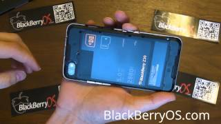 How To Insert Your Z30 SIM and SD Card