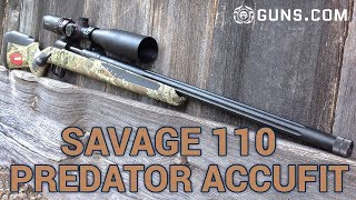 Gun Review: AccuFit makes the Savage 110 Predator a go to rifle