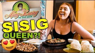 Trying BEST SISIG In Philippines?! Angeles City, Sisig Captial