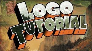 Gravity Falls - Logo Tutorial (Photoshop)