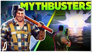 What Happens When You Use A Launch pad At The Top Of The Map? | Fortnite Mythbusters [1]