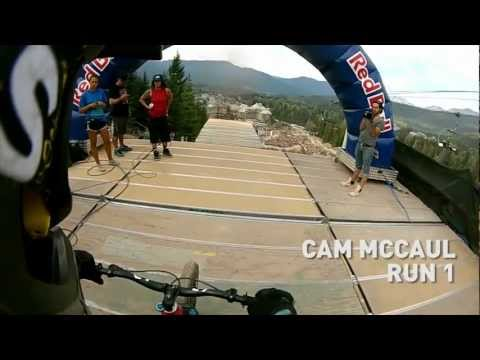Cam McCaul s 3 Runs at Whistler Crankworx Red Bull Joyride - New Contour+2 Camera