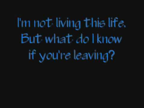 Secondhand Serenade~Like A Knife Acoustic with lyrics