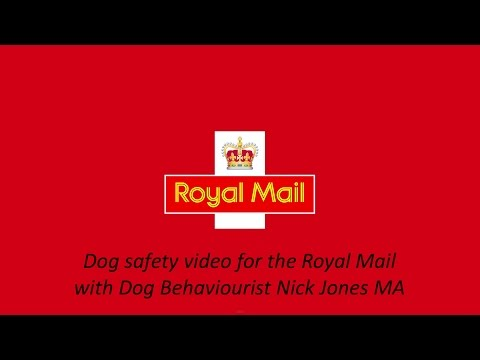 Dog Safety Video. Post Office worker safety for the Royal Mail.