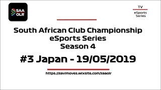 SAAOLR South Africa Academy Online Racing - S4 #3 Japan GP