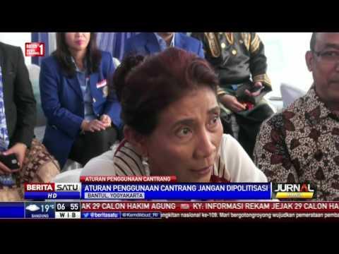 Presiden Jokowi Sudah Larang Menteri Susi Bicara Lagi Soal Cantrang