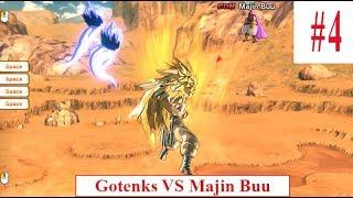 Hoạt hình kid Dragonball Tập #4   Goten and Trunks combine to be Gotenks Vs Majin Buu
