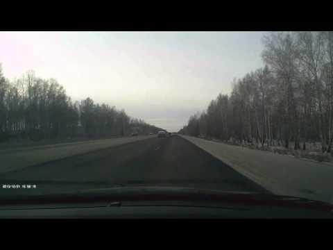 Авария на трассе М5 Челябинск 21/12/2013