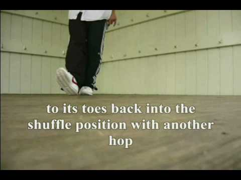 Shuffle Kick mozgás