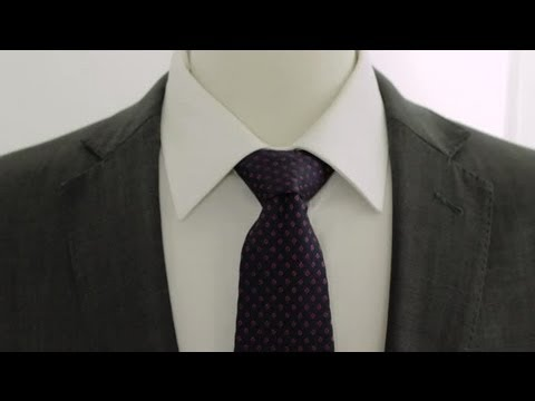 How to Tie a Double Windsor Knot : Neckties & Bow Ties