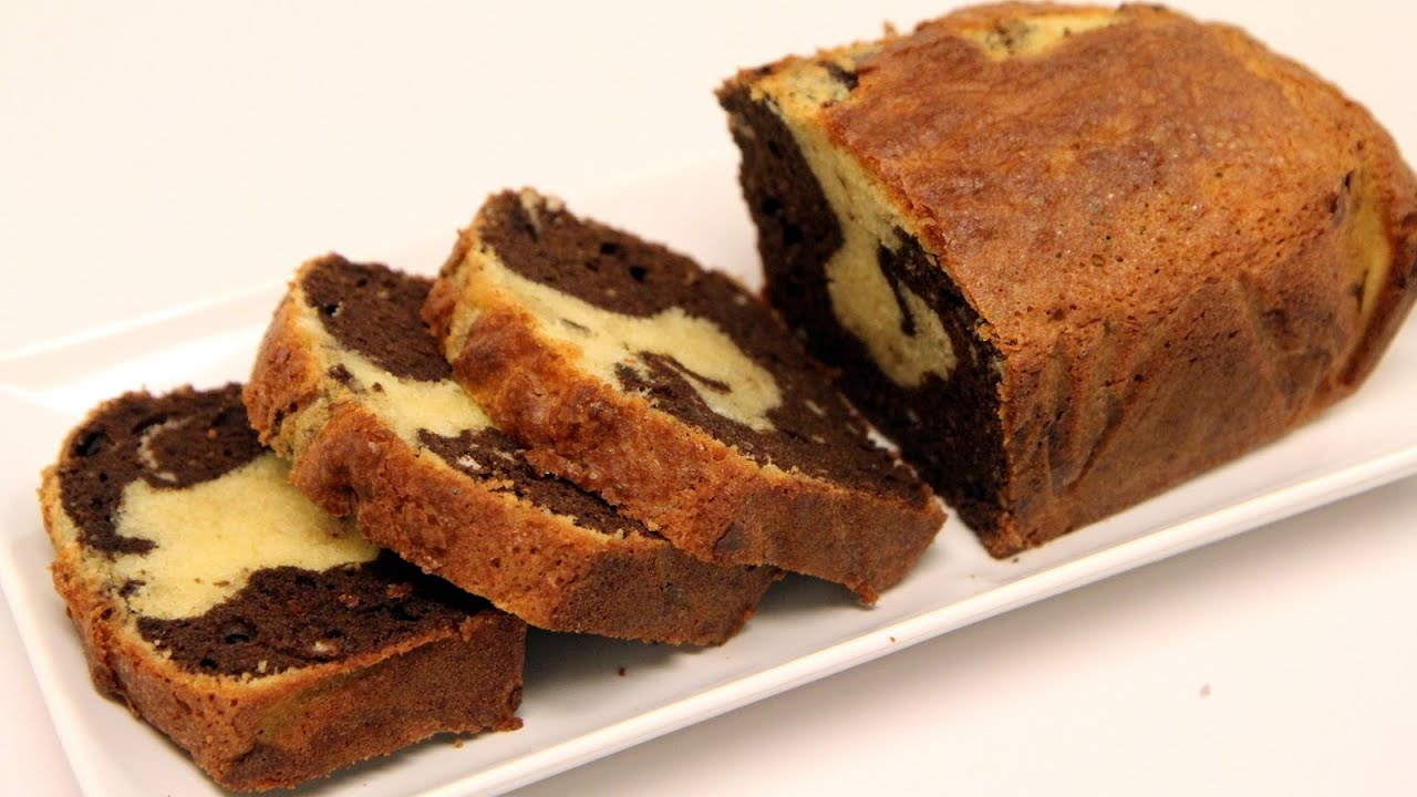 Chocolate Marble Sponge Cake Recipe