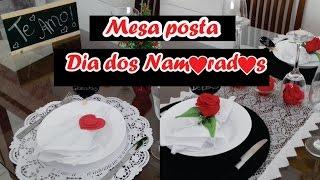Mesa posta dia dos Namorados com apenas R$38,00 reais